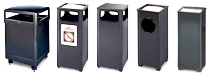 United Receptacle Aspen Series - Standard Garbage Cans, Waste Receptacles, Trash Containers & Sand Urns