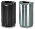 United Receptacle Designer Line Eclipse Trash Cans, Waste Receptacles, Trash Containers & Garbage Cans