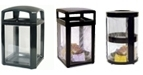United Receptacle Homeland Security Garbage Cans, Trash Containers & Waste Receptacles
