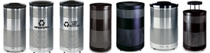 United Receptacle Howard Classic Waste Receptacles, Trash Containers & Garbage Cans