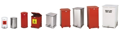 United Receptacle Step On Trash Cans, Waste Receptacles & Garbage Containers