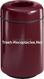 "FG1829T Two Piece Round Model - 28 Gallon Capacity - 18"" Dia. x 29\"" H - Disposal Opening is 9\"" Dia."