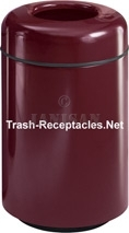 "FG1829T Two Piece Round Model - 28 Gallon Capacity - 18"" Dia. x 29"" H - Disposal Opening is 9"" Dia."