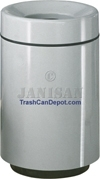 "FG2438 Two Piece Round Model - 62 Gallon Capacity - 24"" Dia. x 39"" H - Disposal Opening is 13"" Dia."