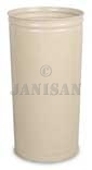 "United Receptacle WB2029 Tall Round Wastebasket - 80 qt. Capacity - 16"" Dia. x 29"" H - 1 pack of 3"