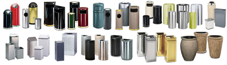 United Receptacle Indoor Trash Cans