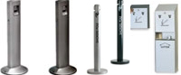 United Receptacle Smokers Poles, Urns & Stations